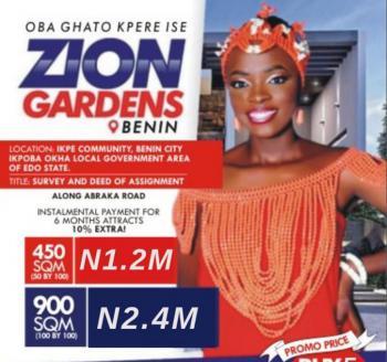 Buy & Build Land, Zion Garden Benin, Ikpe Community,along Benin Abraka Road,benin City,, Ikpoba Okha, Edo, Mixed-use Land for Sale
