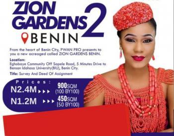 100% Dry Land for Buy & Build, Close to Bensons Idahosa University, Zion Garden 2, Eghobaye Community Off Sapele Road, Benin City, Ikpoba Okha, Edo, Mixed-use Land for Sale