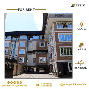 2-bedroom Apartment, Osapa, Lekki, Lagos, House for Rent