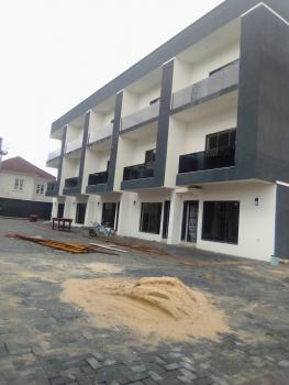 Newly Built 4 Bedrooms Terraced Duplex with Bq in a Well Secured Estate, Lekki Phase 1, Lekki, Lagos, Terraced Duplex for Sale