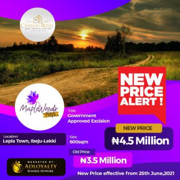 Plots of Land in a Serene Environment, Lepia Town, Ibeju Lekki, Lagos, Mixed-use Land for Sale