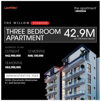 Luxury 3bedroom Apartment in a Serene Environment, Behind Novare Shoprite, Sangotedo, Ajah, Lagos, Block of Flats for Sale