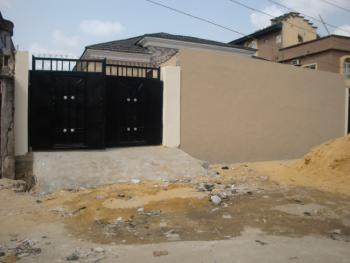 3 Bedrooms Bungalow (new) 2 Unit in a Compound, Ipaye Street, Off  Babs Animashaun Street, Surulere, Lagos, Semi-detached Bungalow for Sale