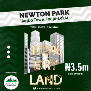 Land with Approved Excision Title, Newton Park Estate Llagbo Town, Lekki Free Trade Zone, Lekki, Lagos, Residential Land for Sale