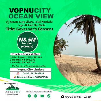 Land with Governor Consent, Eko-akete Vopnu City Ocean Ocean View Estate, Abijo, Lekki, Lagos, Mixed-use Land for Sale