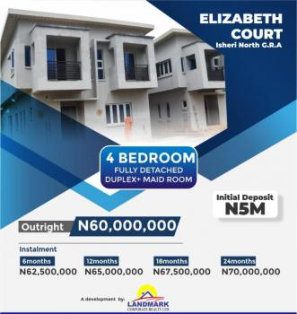 Specious 4 Bedroom Fully Detached Duplex with Bq, Lizbeth Court, Isheri North, Lagos, Detached Duplex for Sale