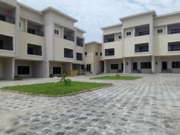 Spacious Serviced 4 Bedroom Terrace Duplex with 1 Room Bq., Guzape District, Abuja, Terraced Duplex for Rent