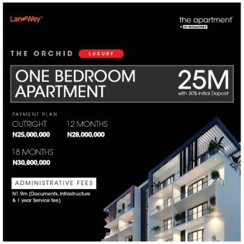 Luxury One Bedroom Apartment in a Serene/green Area, Behind Novare Shoprite, Sangotedo, Ajah, Lagos, Block of Flats for Sale