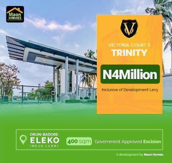 Promo on Victoria Court Trinity, 3 Plots Available at Victoria Court Trinity Eleko Ibejulekki Lagos, Eleko, Ibeju Lekki, Lagos, Residential Land for Sale