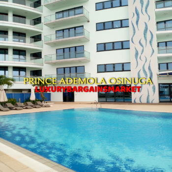 The Best Waterfront 3 Bedroom Apartment in The Axis! Period., Victoria Island (vi), Lagos, Flat / Apartment for Rent