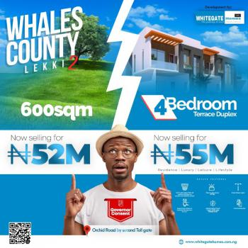 Estate Land Awoof!, Whale County Phase 2, Orchid Road, Lekki, Lagos, Residential Land for Sale