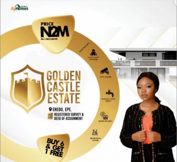 Land, Golden Castle Estate, Eredo, Epe, Lagos, Residential Land for Sale