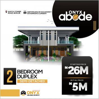 Luxury 2 Bedroom Semi Detached Duplex with Bq, Watchtower Road, Bogije, Ibeju Lekki, Lagos, Semi-detached Duplex for Sale