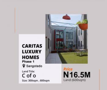 Build and Build C of O Land in a Beautiful Environment, Caritas Luxury Homes Phase 1, Behind The Novare Mall, Shoprite, Sangotedo, Ajah, Lagos, Residential Land for Sale