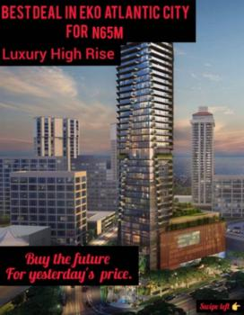 Luxury High Rise Apartment, Eko Atlantic City, Lagos, Block of Flats for Sale