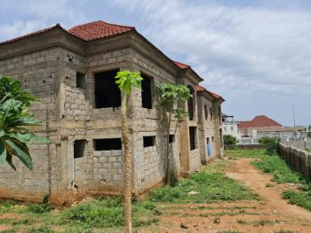 Uncompleted Twin Duplex, Katampe Extension Diplomatic Zone, Katampe, Abuja, Semi-detached Duplex for Sale