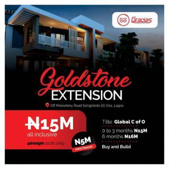 Gracias Goldstone Extension, Off Monastery Road, Sangotedo, Eti-osa, Lagos, Sangotedo, Ajah, Lagos, Residential Land for Sale