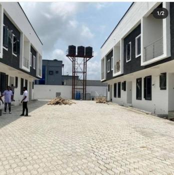 Luxury 4 Bedroom Terrace in a Serene Environment, Adjacent Crown Estate, Sangotedo, Ajah, Lagos, Terraced Duplex for Sale