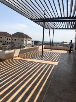 Immaculately Built 4 Bedroom Penthouse Apartment with a Room Bq, Guzape District, Abuja, Flat for Rent