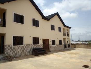 Beautiful 4 Bedroom Terraced Duplex in an Estate, Wuye, Abuja, Flat for Rent