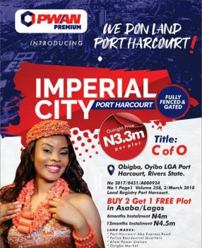 100% Dry Land for Buy & Build, Imperial City, Obigbo Oyigbo L.g.a Port Harcourt, Port Harcourt, Rivers, Mixed-use Land for Sale