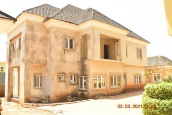 Semi-finished 5-bedroom Fully Detached Duplex with 2 Rooms Bq, 14, Wilfred Oleribe Street, Dawaki Extension, Dawaki, Gwarinpa, Abuja, Detached Duplex for Sale