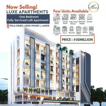 1 Bedroom Loft, Lekki Phase 1, Lekki, Lagos, Block of Flats for Sale