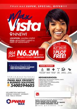Land, Max Vista, Umudim, Nnewi, Anambra, Mixed-use Land for Sale