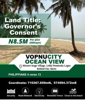Land in a Serene Environment, Vopnucity Ocean Estate, Mosere Ikoga, Ibeju Lekki, Lagos, Land for Sale