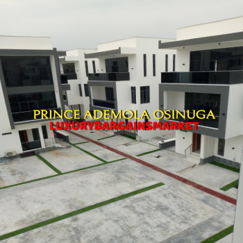 Cash Ready Buyers Only - Newly Built 4 Bedroom Semi Detached House, Off Onikoyi Road, Ikoyi, Lagos, Semi-detached Duplex for Sale