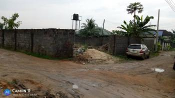 a Table 1 Plot of Land with a Foundation of 4 Bedroom Duplex, Around Nddc Road By First Market Round About, Eneka, Port Harcourt, Rivers, Residential Land for Sale