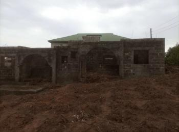 2 Wings of Uncompleted 2 Bedrooms Flat All Rooms En-suite on a Full Plot, Mowo Kekere, Ijede, Lagos, Detached Bungalow for Sale