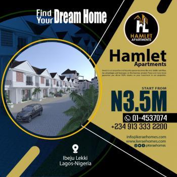 2 Bedroom Luxury Apartments, Near Dangote Refinery, Osoroko, Ibeju Lekki, Lagos, Block of Flats for Sale