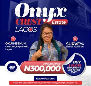 Cheap Land for Buy & Build, Onyx Crest, Okun- Ise, Ode Omi, Ibeju Lekki, Lagos, Mixed-use Land for Sale