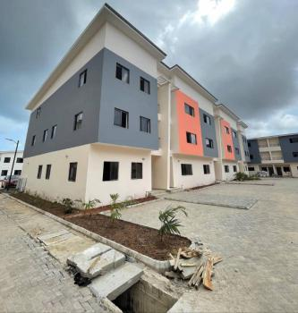 Newly Built Spacious 4bedrooms Terraced Duplex with 1room, Off Chisco Bus Stop, Ikate Elegushi, Lekki, Lagos, Terraced Duplex for Sale