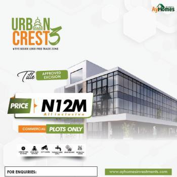 Estate Land, Ibeju Lekki, Lagos, Commercial Land for Sale