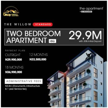 a Standard 2 Bedroom C of O Apartment with Bq You Will Love to Have, Monastery Road, Sangotedo, Ajah, Lagos, Block of Flats for Sale