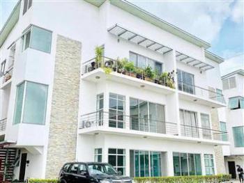 Waterfront 3 Bedroom Flat (1st Floor) with Bq Pool Gym Jetty, Banana Island, Ikoyi, Lagos, Flat for Sale