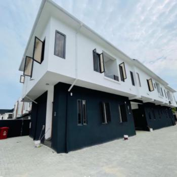 Newly Built 3 Bedroom Terrace Duplex Fully Finished 24 Power, Lekki, Lagos, Terraced Duplex for Sale