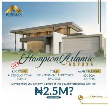 Land, Hampton Atlantic Estate, Eleko, Ibeju Lekki, Lagos, Residential Land for Sale