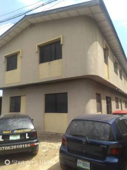 Decent Block of 4 Flats of 3 Bedrooms Plus 3 Bedrooms Duplex As Bq on Full Plot, Unity Estate, Egbeda, Alimosho, Lagos, Detached Duplex for Sale