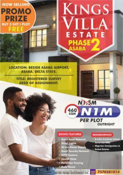 Land, Koka, Kings Villa Estate Phase 2, Asaba, Delta, Residential Land for Sale