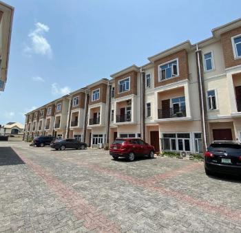 Exquisitvely Built & Spacious 4 Bedroom Terrace + Bq, Osapa, Lekki, Lagos, Terraced Duplex for Sale