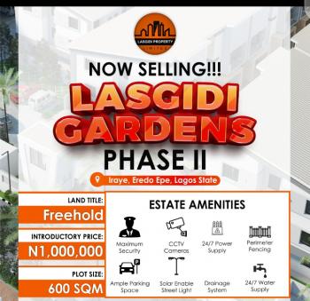 Lasgidi Gardens Phase 2, Irate Eredo, Epe, Lagos, Residential Land for Sale