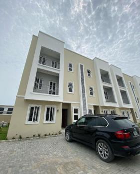 Nicely Built 4 Bedroom Terrace Duplex with Bq;, Lekki Phase 1, Lekki, Lagos, Terraced Duplex for Rent