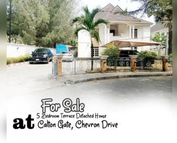 5 Bedrooms Detached House with 2 (nos) Mini Flats As Servants Quarter, Carlton Gate Estate, Chevron Drive, Lekki, Lagos, Detached Duplex for Sale