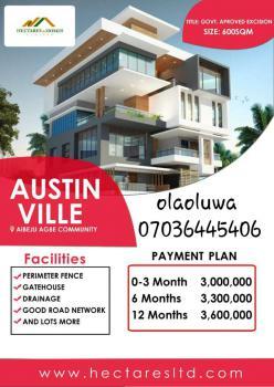 Land, Austin Ville, Ibeju-agbe, Ibeju, Lagos, Mixed-use Land for Sale