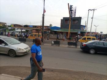 Strategic Commercial Land, Ogunnusi By Kosoko Road, Ojodu Berger, Ojodu, Lagos, Commercial Land for Sale