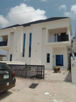 Newly Built 4bedroom Semi Detached with Swimming Pool, Bq, in a Well Secured Estate, Ajah, Lagos, Semi-detached Duplex for Sale