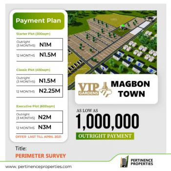 Affordable Land, Vip Gardens Estate Magbon Town, Magbon, Badagry, Lagos, Residential Land for Sale